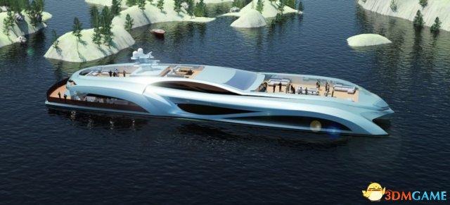 有钱就是任性!国外超级奢华又科幻的派对游艇图赏