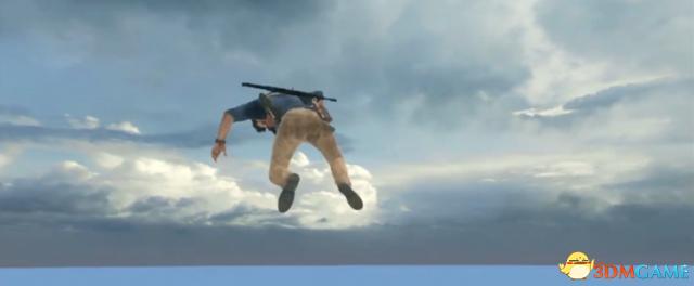 演示视频中德雷克坠无底深渊 有BUG并不是坏事?