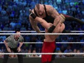 WWE 2K15与UFC建模对比