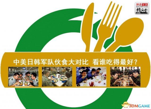 中、美、日、韩军队伙食大比拼 猜猜谁吃得最好?