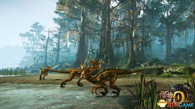 NVIDIA联合腾讯发布《怪物猎人OL》主题测试程序