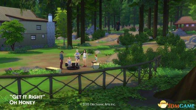 <b>远离都市 新资料片《模拟人生4:野外度假》发售</b>