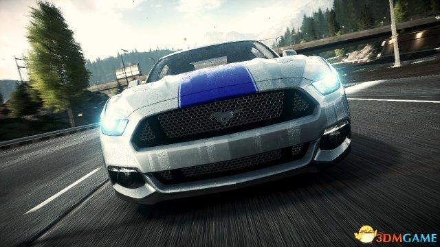 《极品飞车》福特Mustang精彩飚车合辑 点燃英雄梦