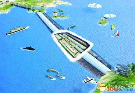 台海隧道可连接中国大陆与台湾 世纪梦想将实现