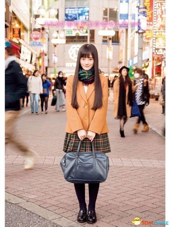 中国四千年一遇美少女上日本杂志 配上日文有感觉