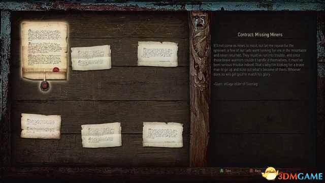 剧透慎入!《巫师3:狂猎》演示任务展示丰富细节