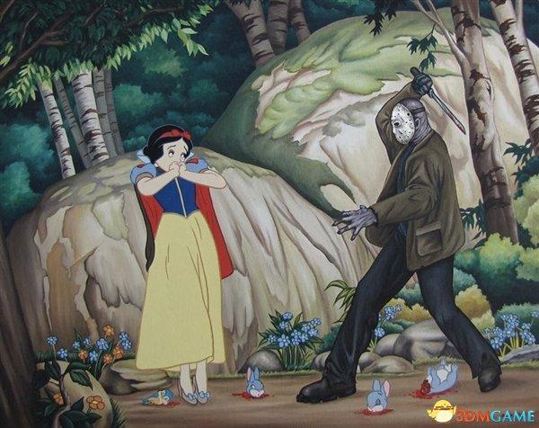白雪公主vs杰森《13号星期五》