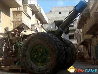 叙反对派煤气罐大炮威力巨大 效果堪比3000颗手雷