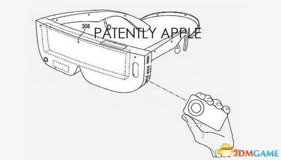 苹果新专利:可与其他设备结合实现虚拟现实效果