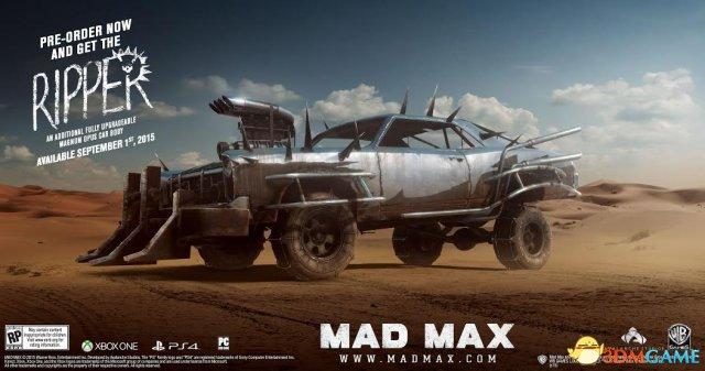 《疯狂麦克斯》旧主机版被取消 最新发售日公布
