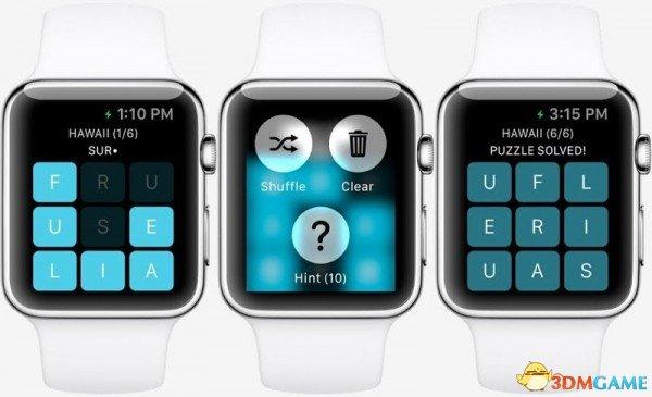 游戏开发者也会在Apple Watch 上演示最新成果