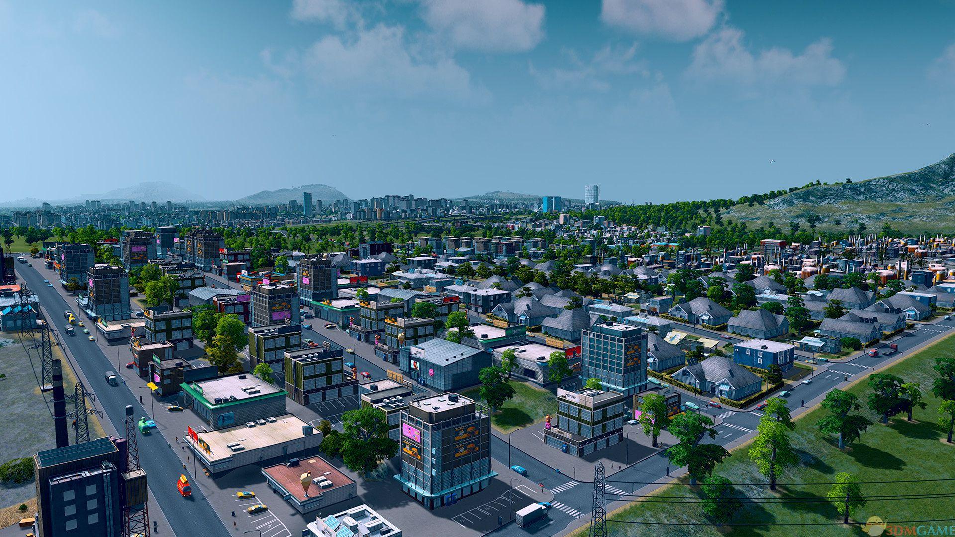《城市天际线》V1.13.3f9整合全DLC免安装版