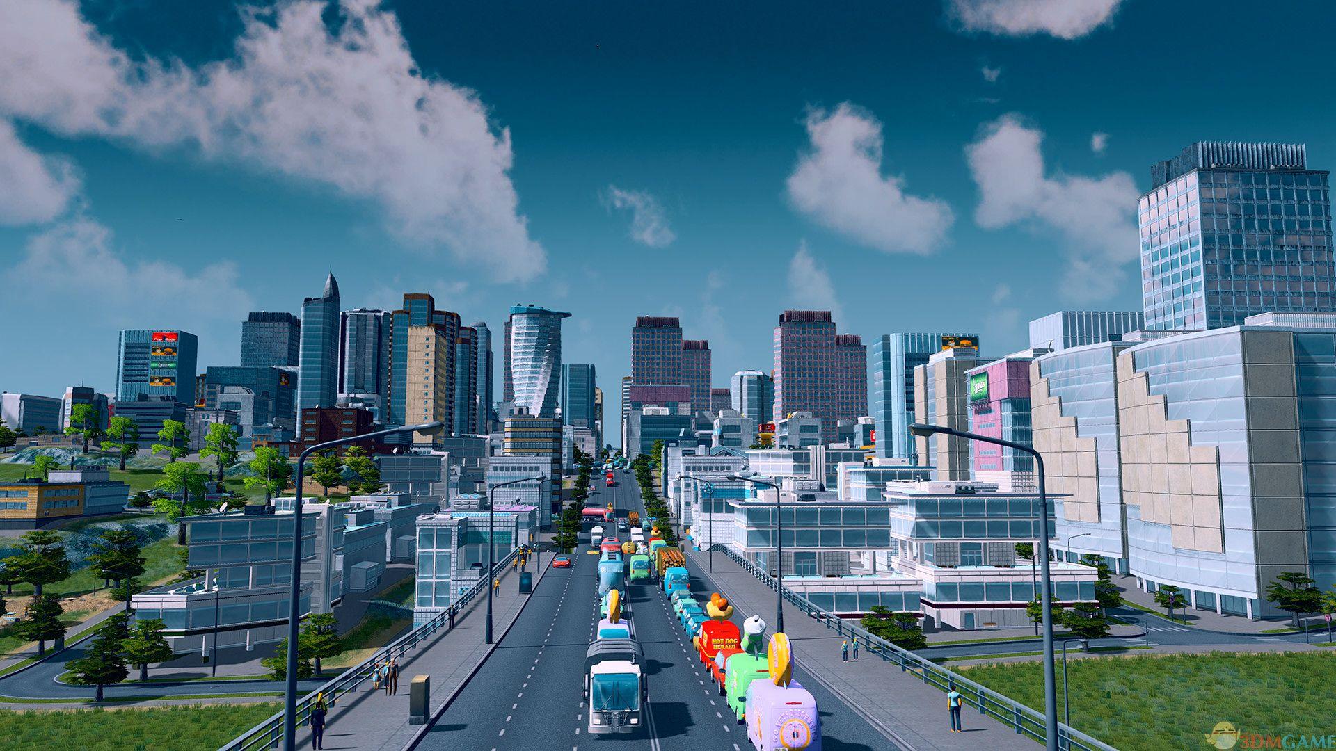 城市:天际线破解版 v.1.13全DLC 更新版本