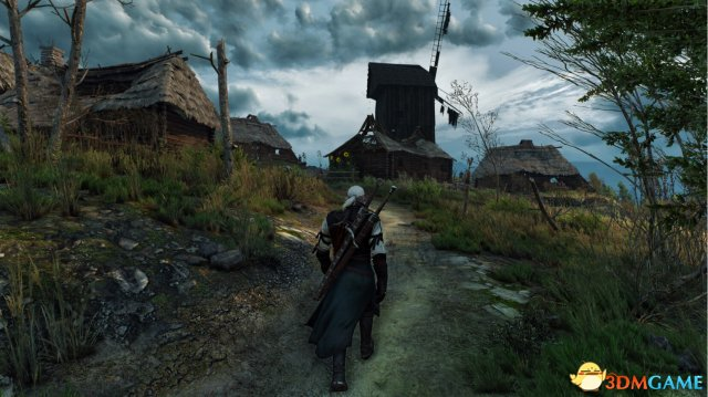《巫师3:狂猎》PC版4K分辨率截图曝光 画质感人