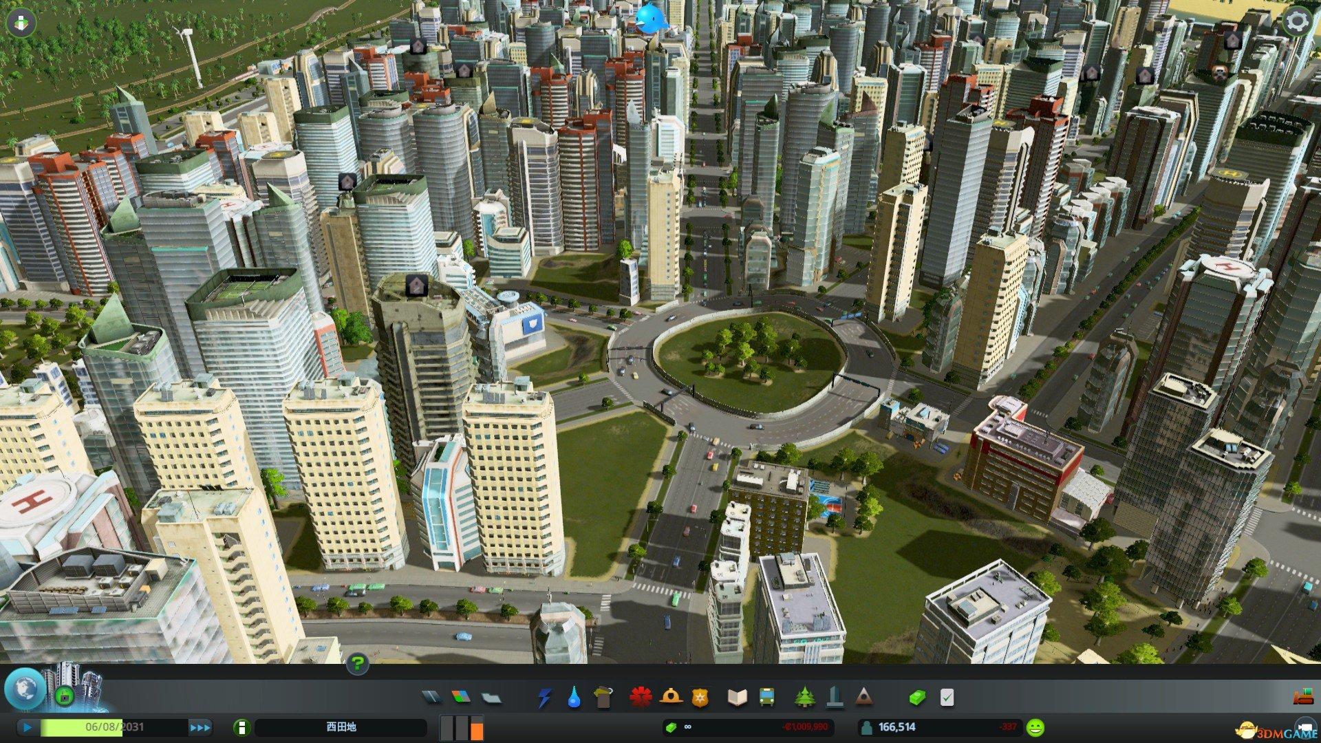 《城市:天际线》大城市建设技巧图文心得