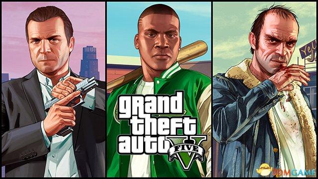 终于等到三男一狗入住PC!GTA5虎牙游戏直播预告