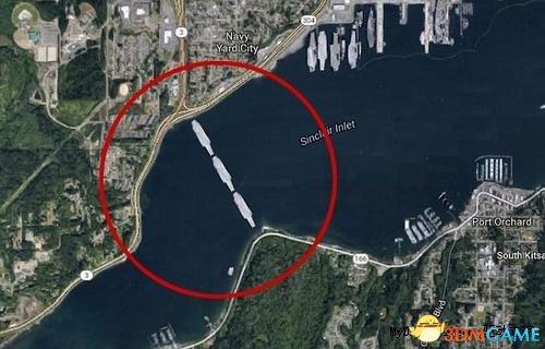 霸气侧漏!美国拟用三艘退役航母搭建跨海大浮桥