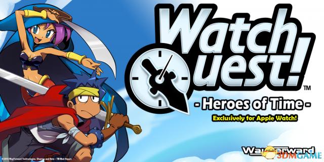苹果表专属冒险游戏《手表冒险:时间英雄》发布