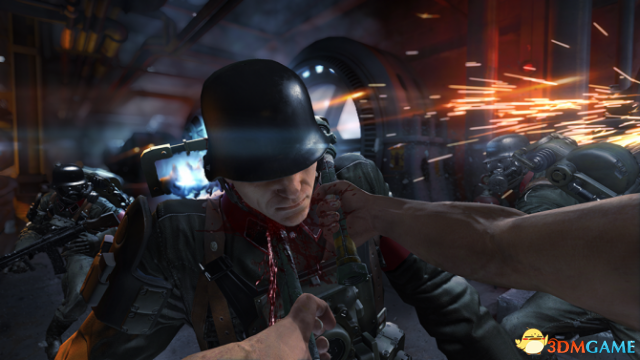 《德军总部:旧血脉》新情报 拿根管子给纳粹放血!