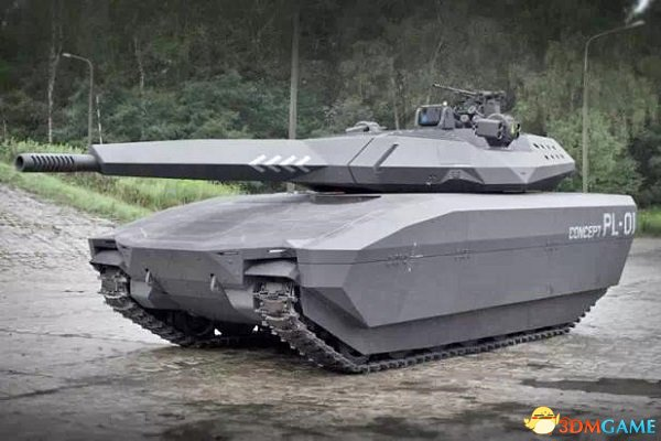 未来黑科技外形梦幻:世界首款隐身坦克亮相波兰
