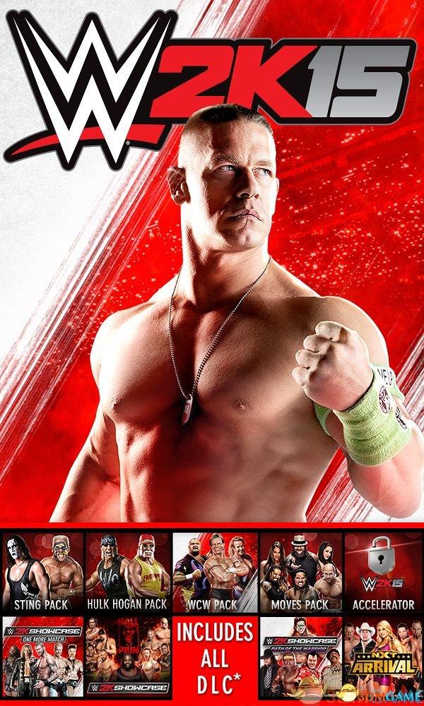 血脉偾张的时刻到了!《WWE 2K15》PC破解版发布