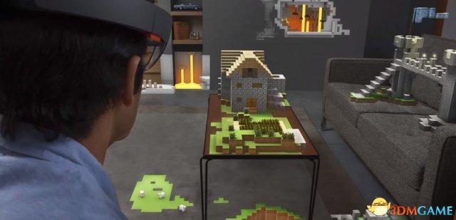 微软AR眼镜设备HoloLens与Unity引擎达成合作协议