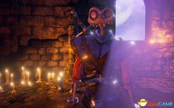 主角造型奇葩登场 《骷髅战士》将重返PS4平台?