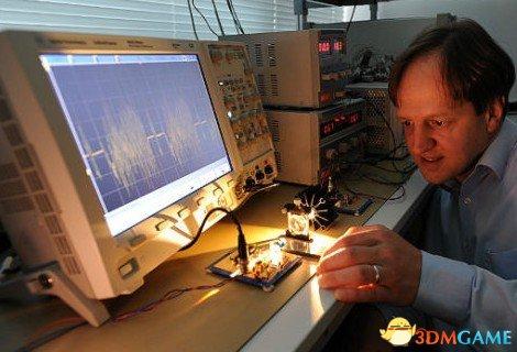 爱丁堡大学的激光Li-Fi信号传输速度可突破100G每秒