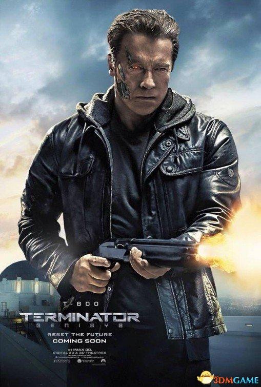 《终结者:创世纪》角色海报赏 州长霸气依旧不减