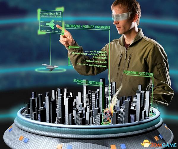 当虚拟现实和3D技术用于军事:军官无需走在前线