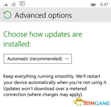 <b>微软称将接管所有Windows 10 Mobile设备的升级</b>