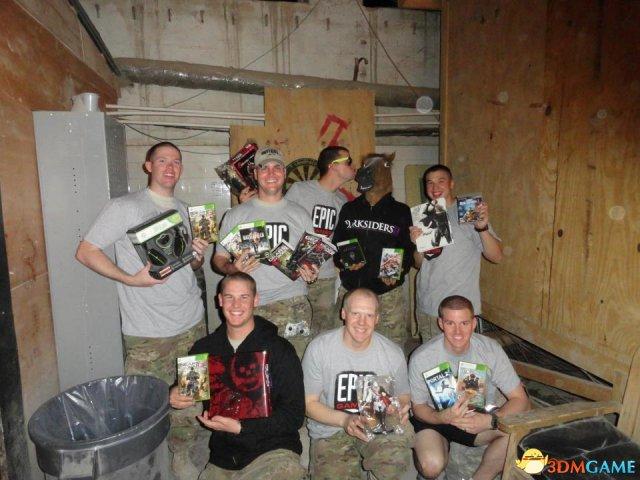 Xbox给退役海军送惊喜大礼,慈善机构为美军提供
