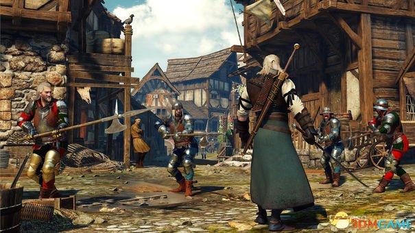 Xbox One版《巫师3:狂猎》首日补丁降低材质表现