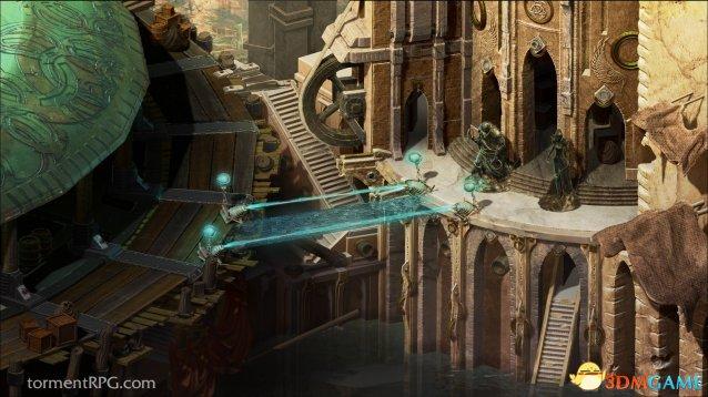 RPG新作《折磨:扭蒙拉之潮》预告 看品质必精品