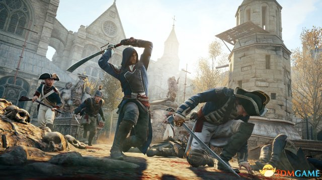 《刺客信条:大革命》趣味统计 游戏耗时1.6万年