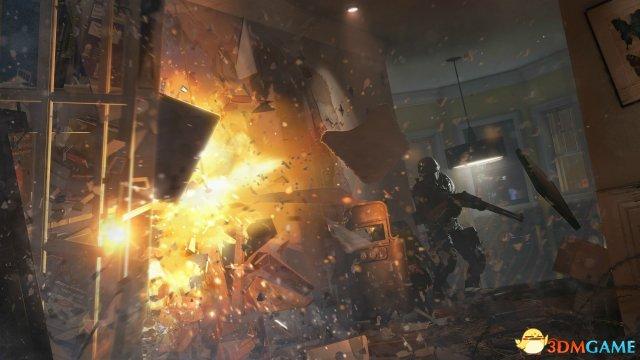《彩虹六号:围攻》新截图 将使用Havok FX技术