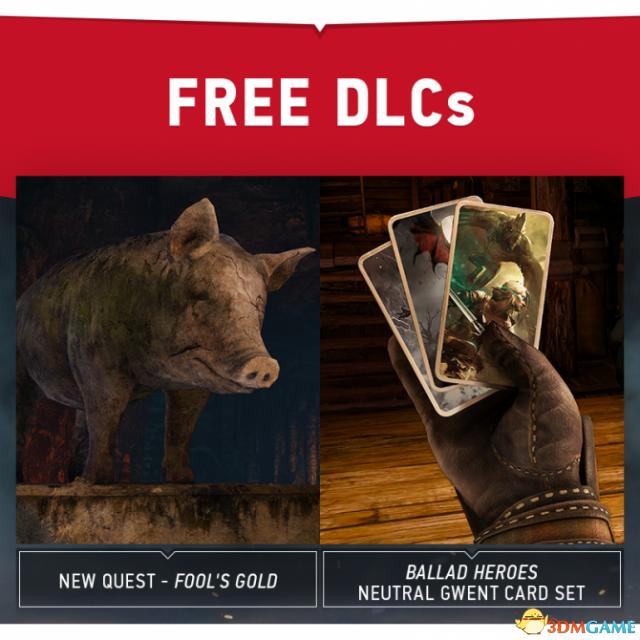 周货来袭!《巫师3:狂猎》最新免费DLC内容曝光