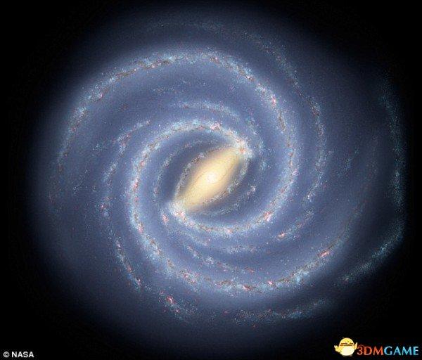 我们的银河系到底有多重?相当于2100亿个太阳质量