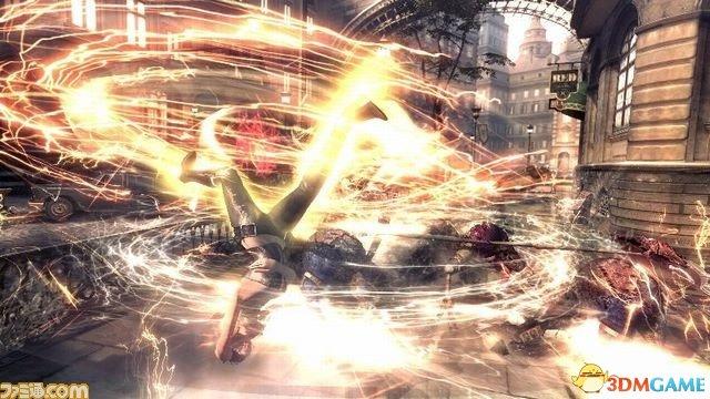 E3 2015:《鬼泣4特别版》图 姐妹花战斗姿势诱人