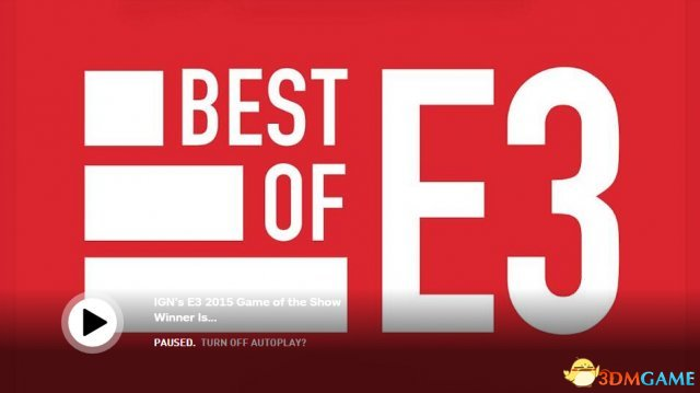 E3 2019:IGN各项最佳大奖出炉 星战前线笑傲群雄
