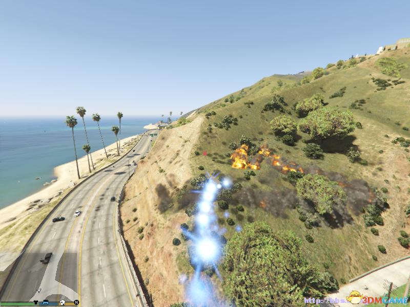 侠盗猎车5GTA5PC版变身外星人驾驶UPO超强MOD_3DM单机