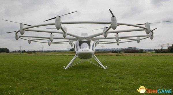 好夸张!德国推出18旋翼飞机造型科幻价值34万美元
