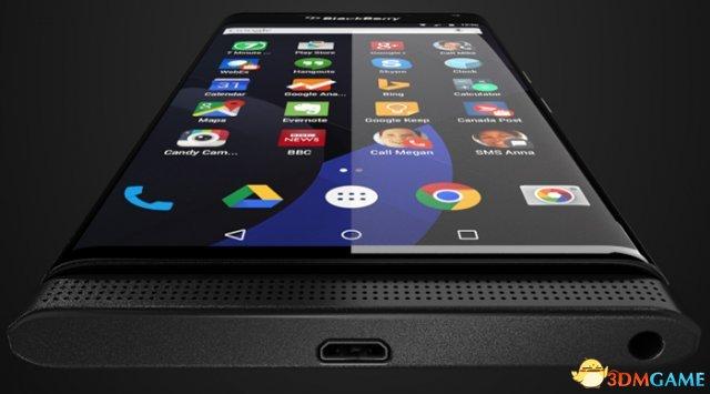 黑莓安卓手机终于要来了:滑盖全键盘+曲面2K屏