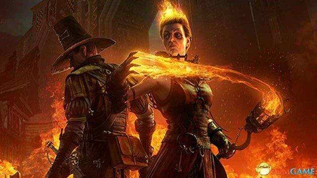 《战锤:末世鼠疫》公布新角色 头发着火邪恶巫