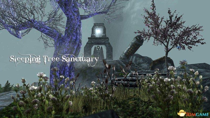 上古卷轴5 矮人的秘密 沉睡之树圣域 解密上古世界