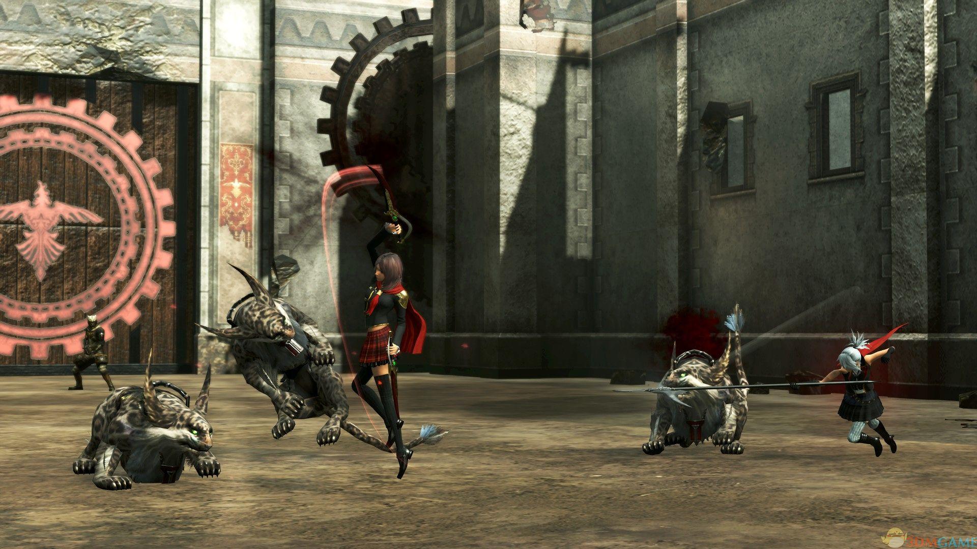 最终幻想:零式HD 1号升级档+破解补丁[3DM]