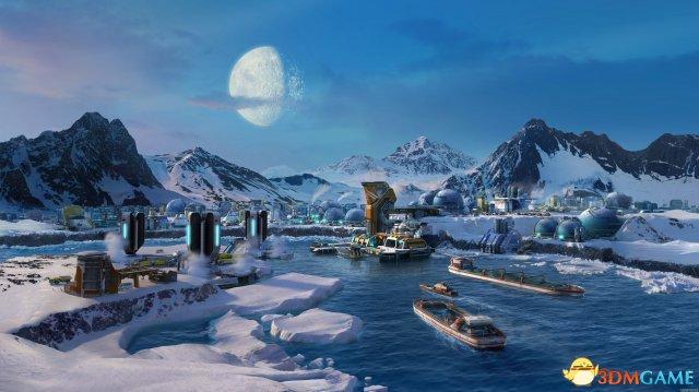 <b>《纪元2205》最新游戏细节 进军月球建设殖民地</b>