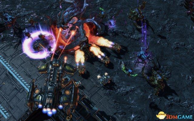 《星际2:虚空之遗》新游戏模式 盟友指挥官截图