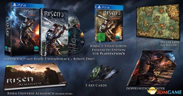 画质完爆PC!PS4《崛起3:泰坦之王-增强版》新图