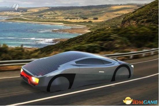 澳大利亚太阳能电动跑车实在太酷了 晴天能一直跑